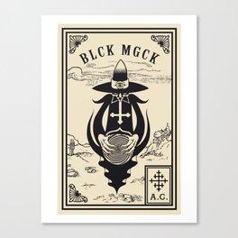 BLCK MGCK Canvas Print