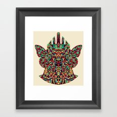 Dimensional Traveller I Framed Art Print