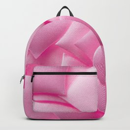 Pink hearts background Backpack