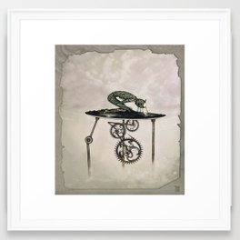 Cogwheel Framed Art Print