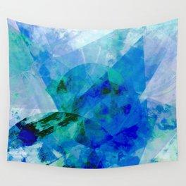 Precipice in Blue XVII Wall Tapestry