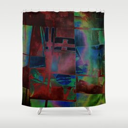 Introversion Shower Curtain