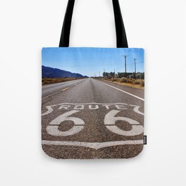 Historic Route 66 Tote Bag