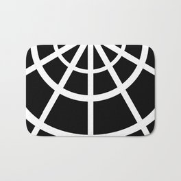 Spiderweb Tee Bath Mat