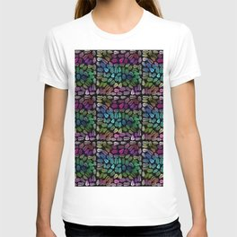 Colorful branches and leaves 1 T-shirt