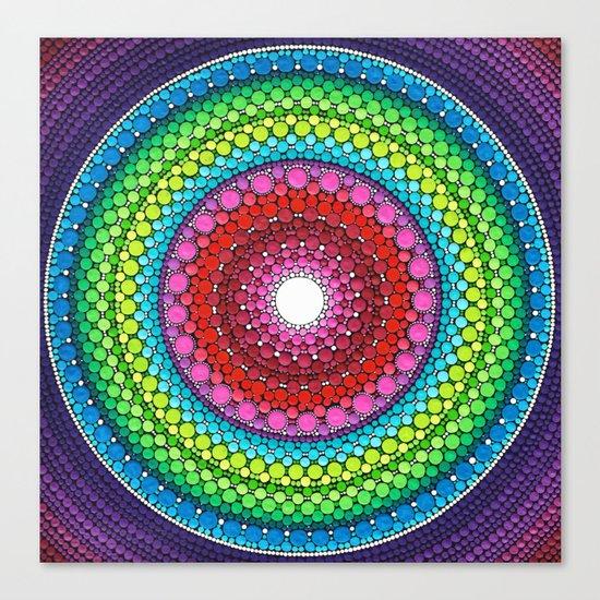 Mandala of Inner Peace Canvas Print