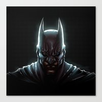 bat man Canvas Prints featuring BAT MAN - bat man by Raisya