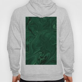 Modern Cotemporary Emerald Green Abstract Hoody