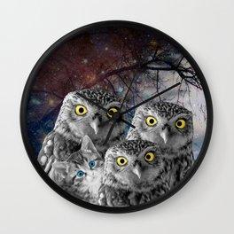 Who Dat Cat Wall Clock