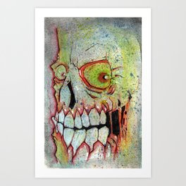 Entombed Art Print