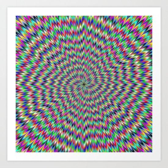 Eye Boggling Art Print