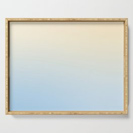 BLIND FAZE - Minimal Plain Soft Mood Color Blend Prints Serving Tray