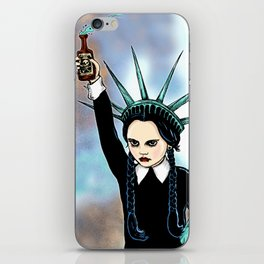 Wednesday Liberty iPhone Skin