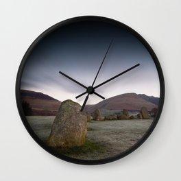Castlerigg Stone Circle Wall Clock
