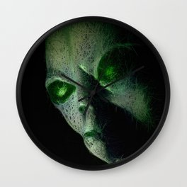 Alien Files Wall Clock