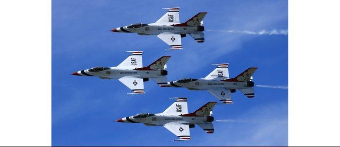 USAF Thunderbirds Diamond 4 Coffee Mug