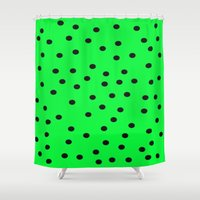 kiwi Shower Curtains featuring Kiwi by TheseRmyDesigns