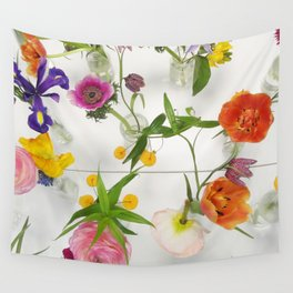 Spring Flowers - JUSTART (c) Wall Tapestry