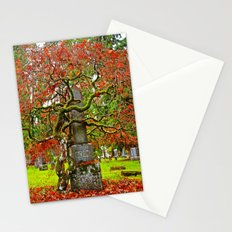 Cemetery love Stationery Cards