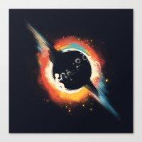 ed sheeran Canvas Prints featuring Void (introversive ed) by Picomodi