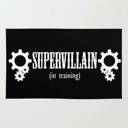 Supervillain in Training Rug