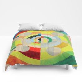 """Robert Delaunay """"Relief-Disques"""" Comforters"""