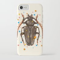 insect iPhone & iPod Cases featuring INSECT VIII by dogooder