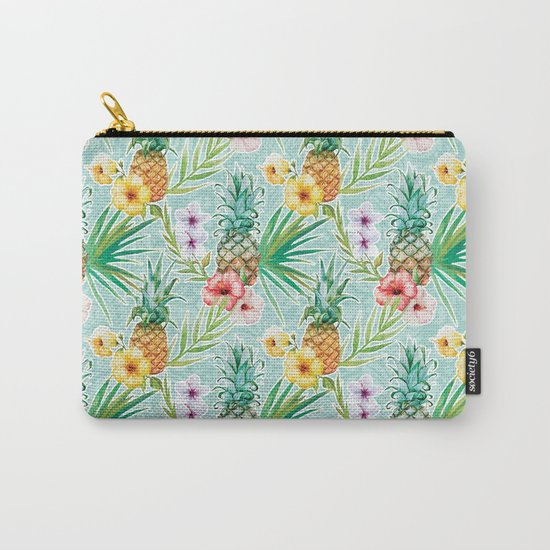 Tropical Summer #6 Carry-All Pouch