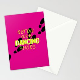 Dancing Shoes Stationery Cards