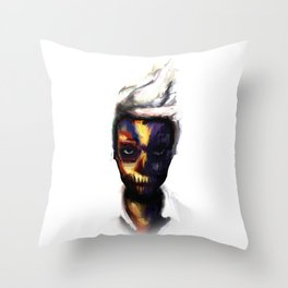 Nik. Throw Pillow