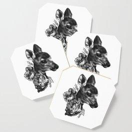 Fawn & Flora I Coaster