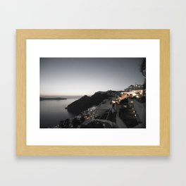 santorini 2 Framed Art Print