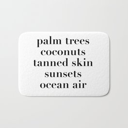 beachy things Bath Mat
