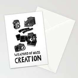 Weapons Of Mass Creation - Photography (clean) Stationery Cards