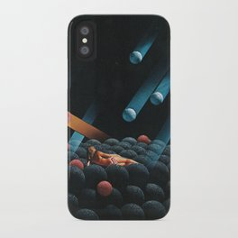 Cosmic Rays iPhone Case