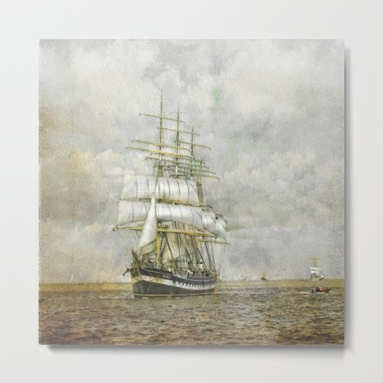 The Kruzenshtern Metal Print