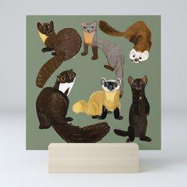 Martens of the World #1 Mini Art Print