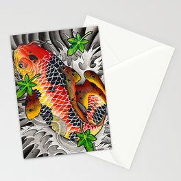 Fall Koi Stationery Cards