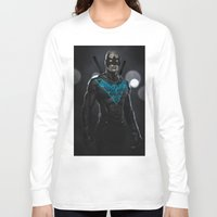 nightwing Long Sleeve T-shirts featuring Nightwing 02 by Yvan Quinet