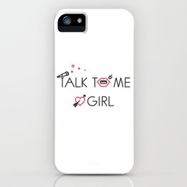 LOOKING - TALK TO ME - iPhone Case