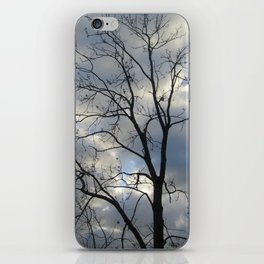 View of the sky iPhone Skin