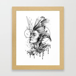 Inky Cap (But not an Inky Cap) Framed Art Print
