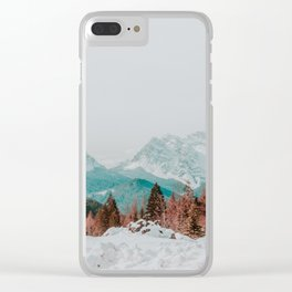 Dolomites, Winter 2017 Clear iPhone Case