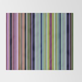 Candy stripes Throw Blanket