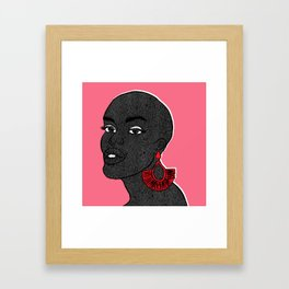 Nana Framed Art Print