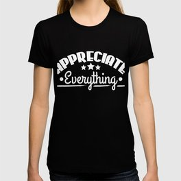 Stay inspired and positive with this simple and adorable tee design. Makes an awesome gift too!  T-shirt