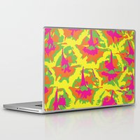 preppy Laptop & iPad Skins featuring Preppy Pineapple by Kristin Seymour