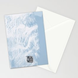 I feel like we don't belong here - Lost in the Ocean Stationery Cards
