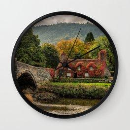 Llanrwst Cottage  Wall Clock