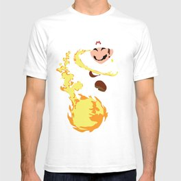 Mario - Fire Flower Mario T-shirt
